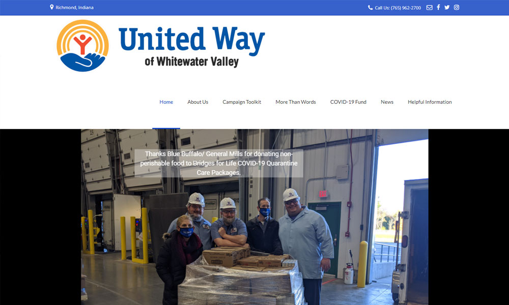 United Way Before