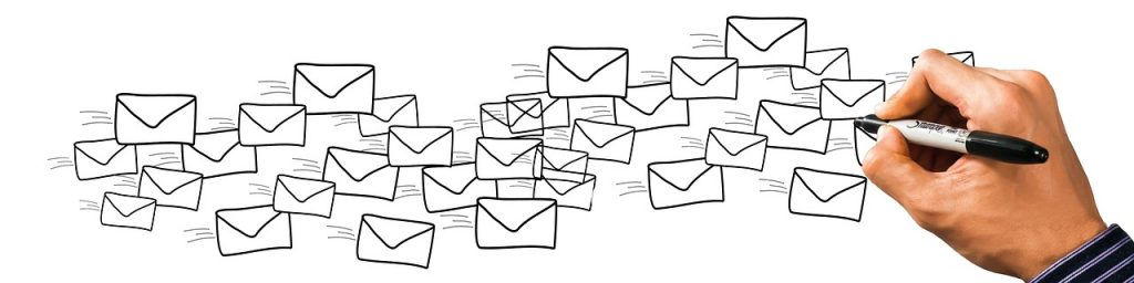 email campaign sketch