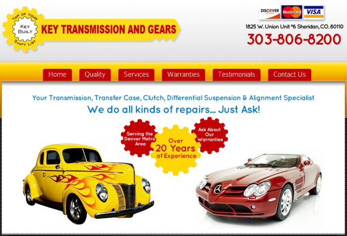keay transmission and gears website