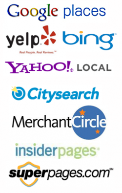Local Search Logos