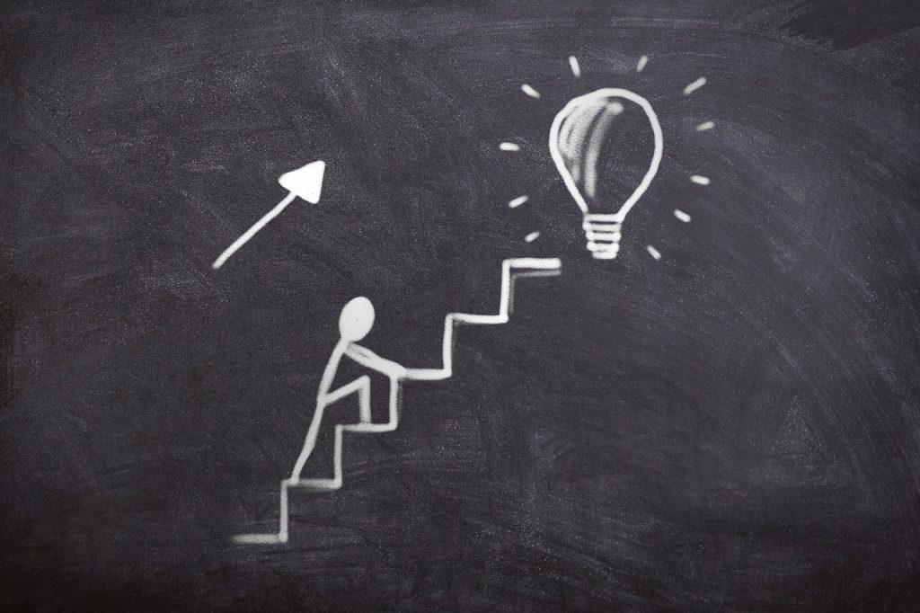 reaching an idea