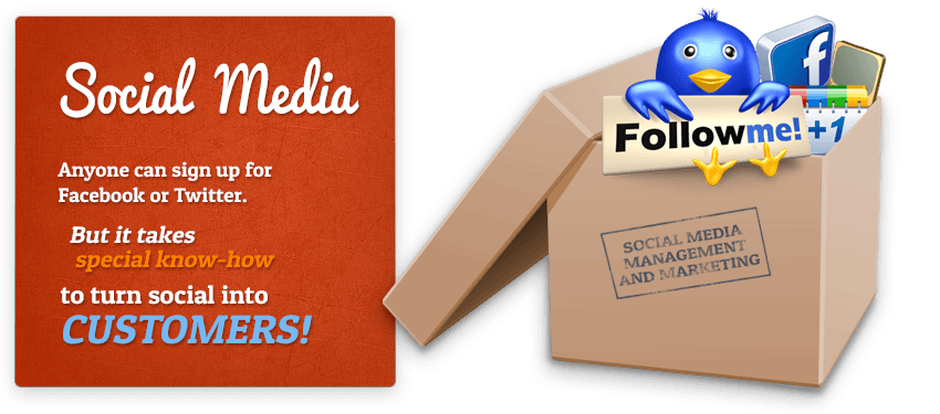 social media marketing and management services
