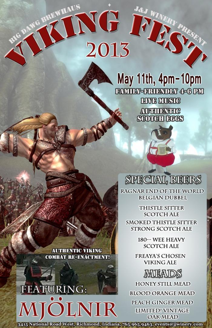 Low-Res Viking Fest Promo Poster